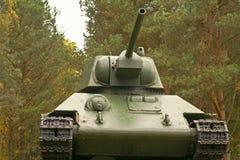 Советский T34 бак, сказание Второй Мировой Войны Стоковые Изображения