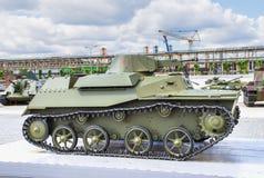 Советский T- 40 танка Стоковое фото RF