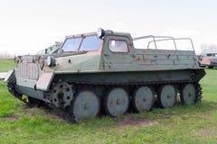Советское военное транспортное средство Второй Мировой Войны Стоковые Изображения