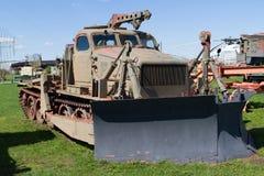 Советское военное транспортное средство трактора Стоковые Фотографии RF