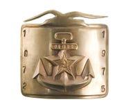 Совет военно-морского флота пряжки пояса Стоковое Изображение RF