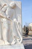 Совет воина памятника belgorod к стоковое фото