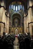 Совет единства украинских православных церков церков стоковое фото rf