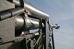 Совет пушки тяжелый старый Стоковые Изображения