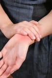 совместная боль Стоковое фото RF