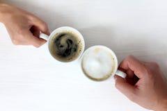 Совместный перерыв на чашку кофе Стоковые Фотографии RF