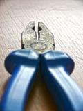Совмещенные плоскогубцы, технические инструменты Стоковая Фотография RF
