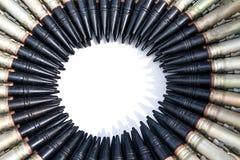совмещенный круг пуль Стоковые Изображения