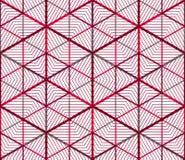Современная абстрактная бесконечная EPS10 предпосылка, three-dimensiona Стоковое Изображение