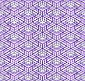 Современная абстрактная бесконечная EPS10 предпосылка, three-dimensiona Стоковая Фотография RF