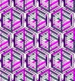 Современная абстрактная бесконечная EPS10 предпосылка, three-dimensiona Стоковая Фотография