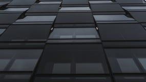 Современная абстрактная геометрическая предпосылка фасада дома стоковое фото