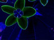 Современная абстрактная предпосылка природы, сад конспектов Иллюстрация вектора