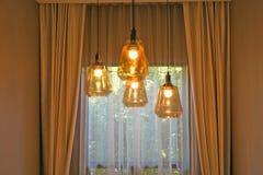 Современная лампа смертной казни через повешение стиля Стоковые Изображения