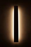 Современная лампа стены, интерьеры дома Стоковое Фото