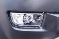 Современная лампа тумана автомобиля стоковые фотографии rf