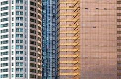 Современная архитектура, абстрактная предпосылка Стоковая Фотография