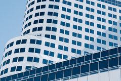 Современная архитектура в городском Ванкувере, Канаде Стоковая Фотография