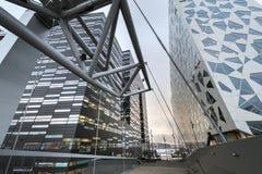 Современная архитектура в Осло городском Стоковая Фотография