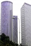 Современная архитектура в Тель-Авив Израиль, страна Стоковые Изображения