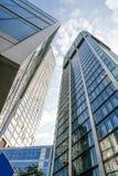 Современная архитектура в Франкфурте-на-Майне Стоковые Фотографии RF
