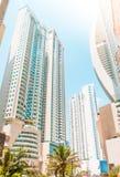 Современная архитектура, здания небоскреба - exterio недвижимости Стоковое Фото