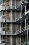 Современная архитектура металла здания Стоковое Фото