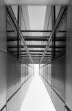 Современная архитектура, минимальный дизайн и искусство Стоковая Фотография RF