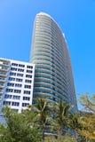 Современная архитектура Miami Beach, Флориды Стоковая Фотография