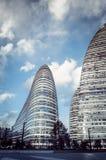 Современная архитектура Wangjing SOHO ориентир ориентира, фарфор Пекина Стоковое Фото