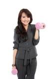 Современная бизнес-леди стоковая фотография