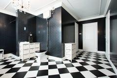 Современная ванная комната стоковые фотографии rf