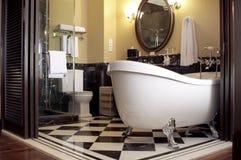 Современная ванная комната Стоковое Изображение RF