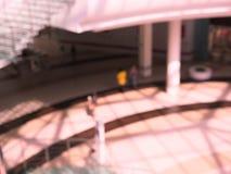 Современная внутренняя запачканная архитектура, стоковая фотография