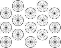 Современная геометрическая абстрактная предпосылка Стоковые Фотографии RF