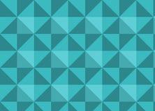 Современная голубая абстрактная предпосылка с треугольниками Стоковые Фото