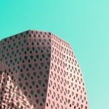 Современная деталь здания в стиле искусства шипучки стоковое фото