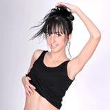 Современная девушка танцора balley стиля Стоковое фото RF
