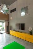 Современная живущая комната, деталь Стоковое Изображение RF