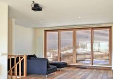 Современная живущая комната Стоковое Фото