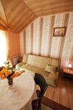 Современная живущая комната Стоковые Изображения RF