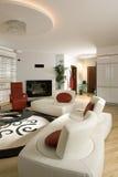 современная живущая комната Стоковое фото RF
