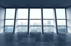 Современная зала Стоковое Фото