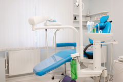Современная зубоврачебная комната Стоковое фото RF