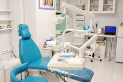 Современная зубоврачебная комната Стоковое Изображение RF
