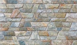 Современная каменная кирпичная стена текстуры плитки стоковые фото