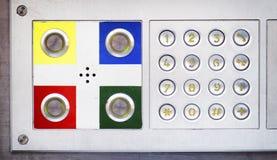 Современная кнопочная панель Стоковое Фото