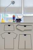 Современная комната игры с игрушкой Стоковая Фотография