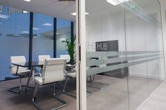 Современная комната правления Стоковое фото RF