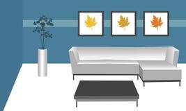 современная комната Стоковое Изображение RF